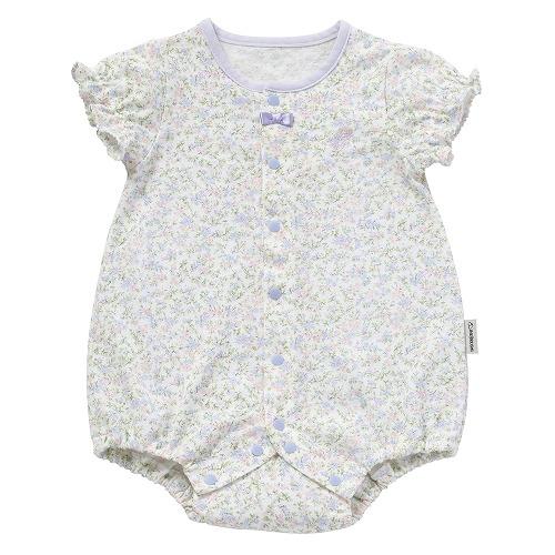 ◎B282001 INUJIRUSHI Baby 半袖ボディミニ 小花柄