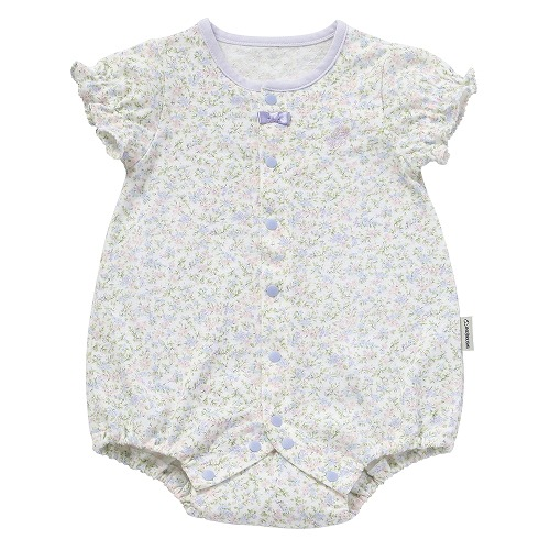 ○B282001 INUJIRUSHI Baby 半袖ボディミニ 小花柄
