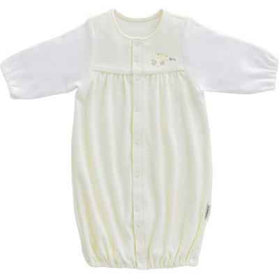 ◎B256000 INUJIRUSHI Baby ドレス&カバーオール 無撚糸パイル