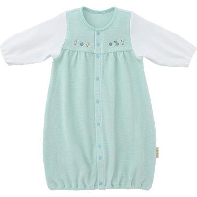 ◎B246003 INUJIRUSHI Baby ドレス&カバーオール 無撚糸パイル