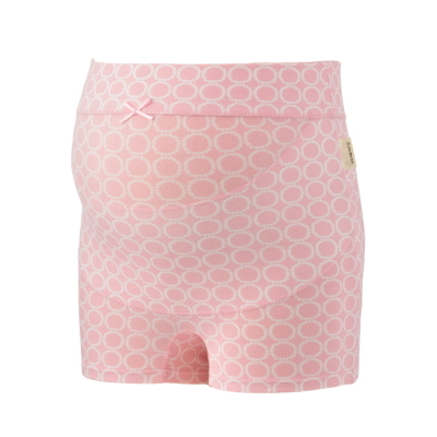 □HB8397 犬印本舗 妊婦帯 パンツタイプ らくばきパンツ妊婦帯(ドット柄)