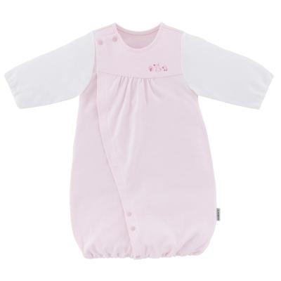 ◎B246000R INUJIRUSHI Baby ドレス&カバーオール スムース 無地